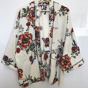Liberty love floral cardigan in Xl